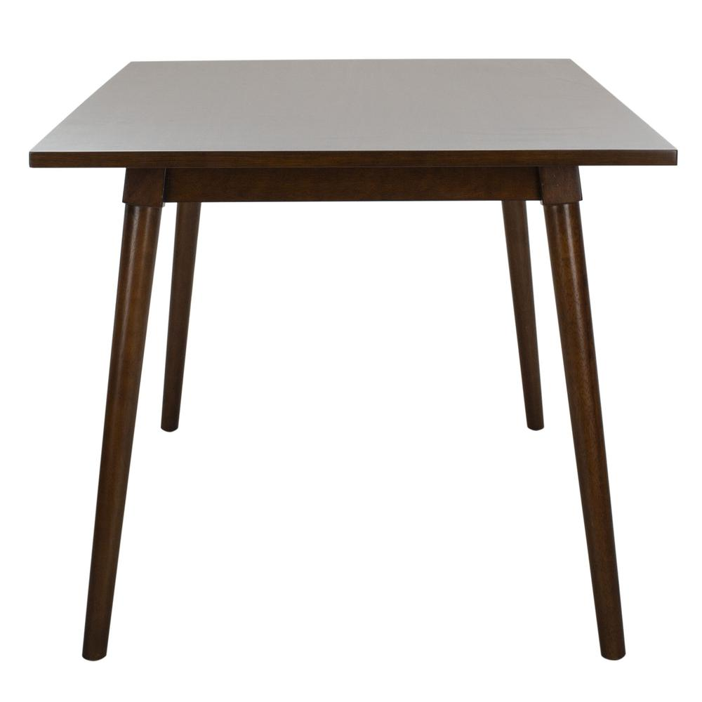 Tia Rectangle Dining Table, Walnut. Picture 7
