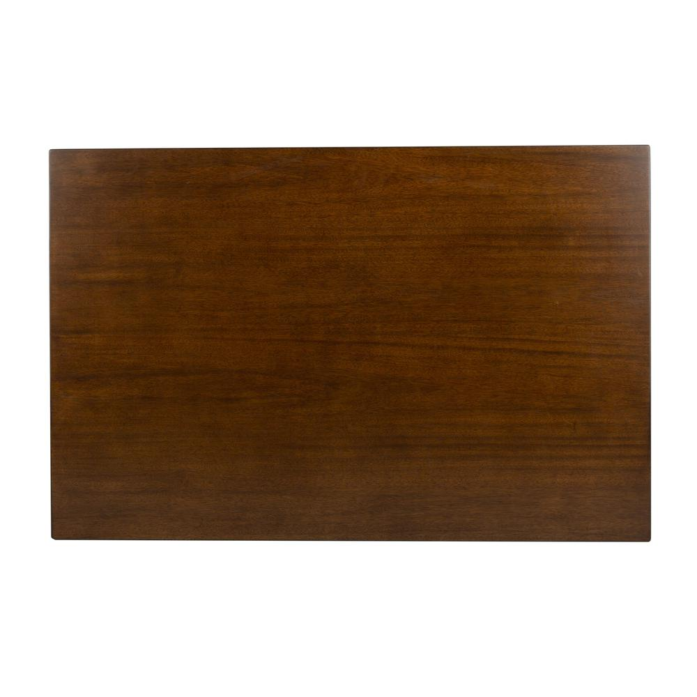Tia Rectangle Dining Table, Walnut. Picture 9
