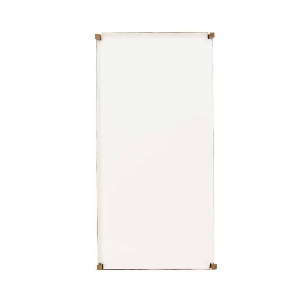 Daniella 4 Tier Etagere, White/Brass. Picture 10