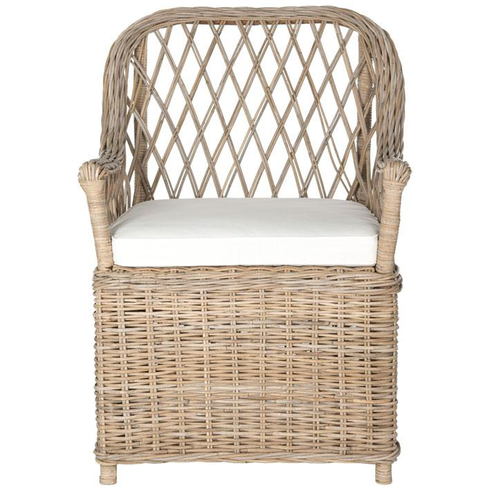 MALUKU RATTAN ARM CHAIR. Picture 1