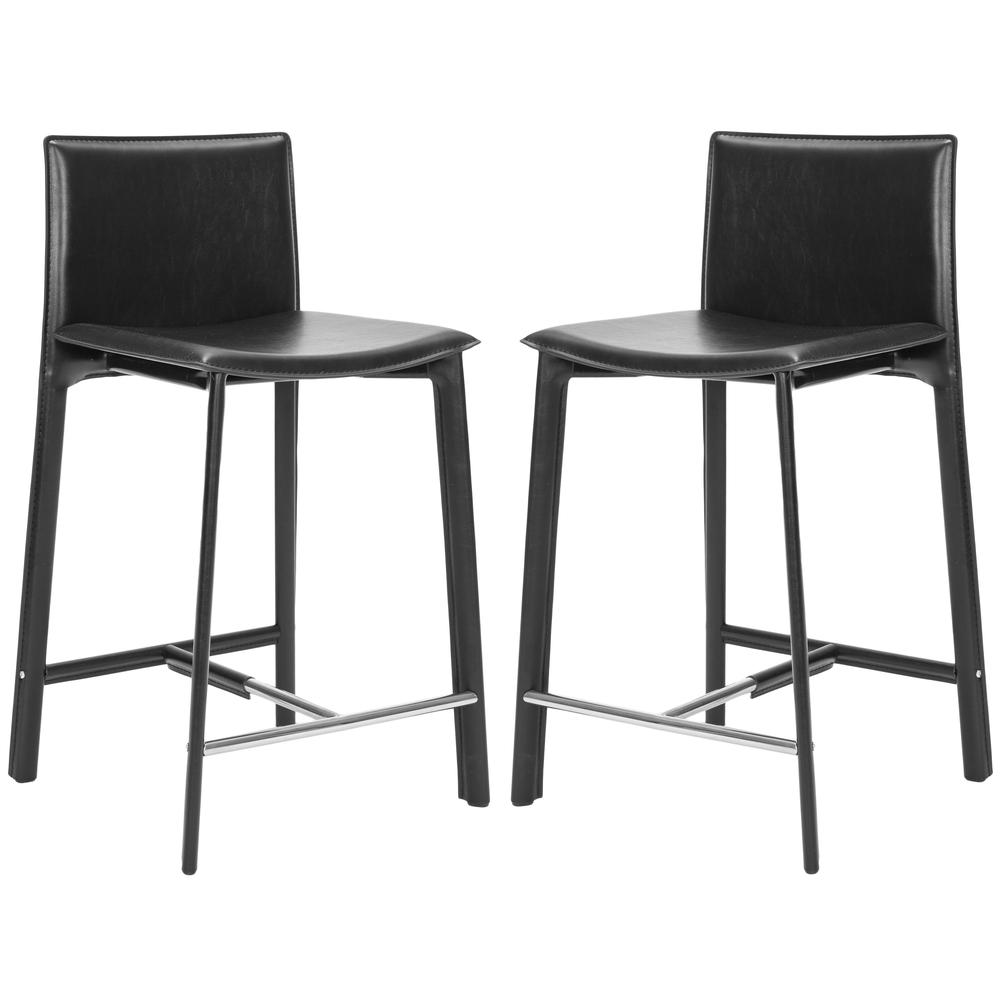 "JANET 24"" COUNTER STOOL (SET OF 2), FOX2005B-SET2. Picture 1"