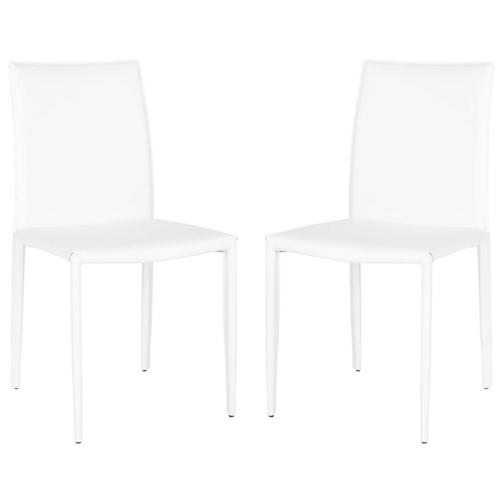 KARNA 19''H DINING CHAIR, FOX2009P-SET2. Picture 1