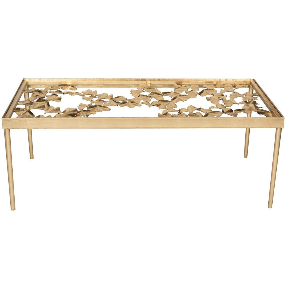OTTO GINKGO LEAF COFFEE TABLE. Picture 1