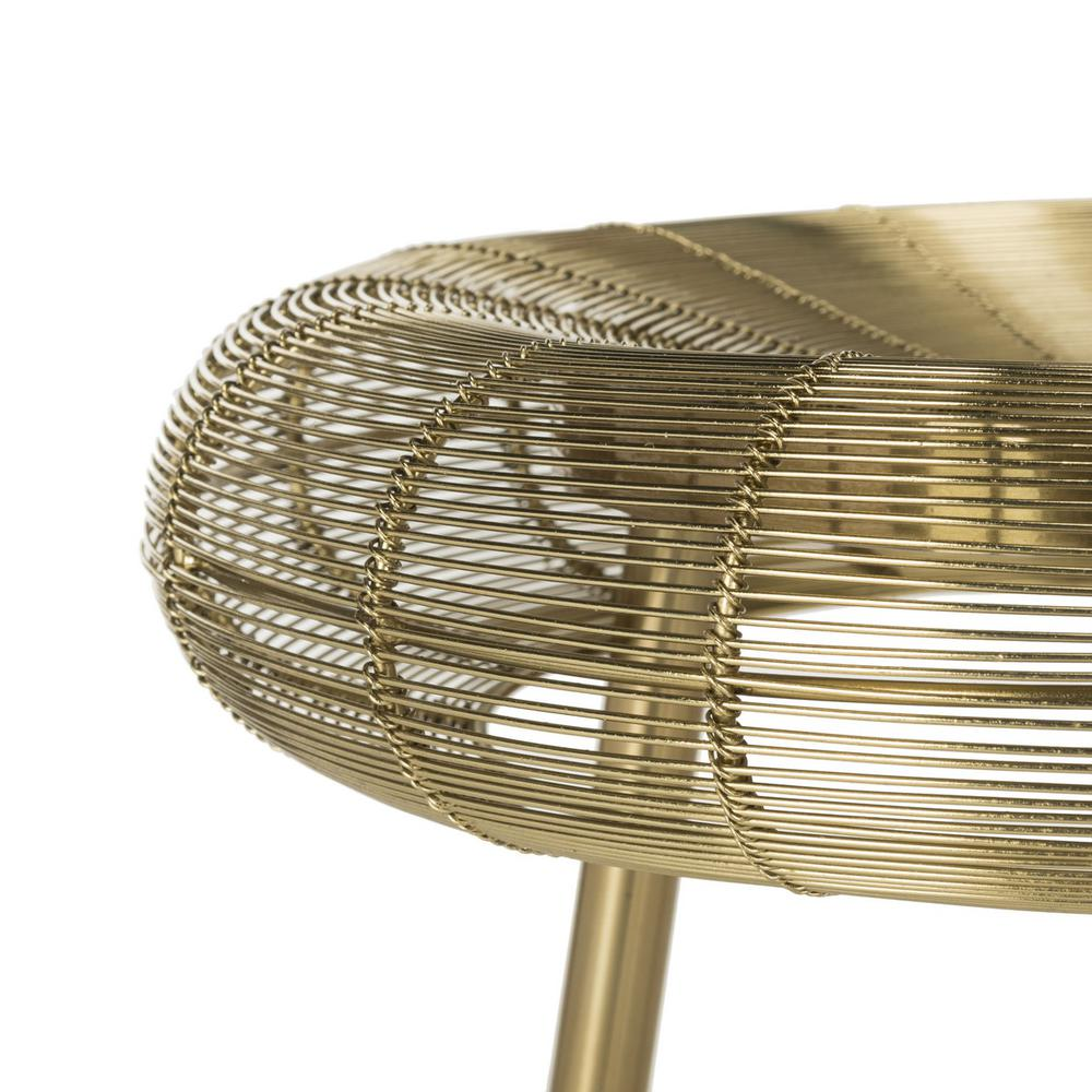 ADDISON WIRE WEAVED CONTEMPORARY BAR STOOL. Picture 1