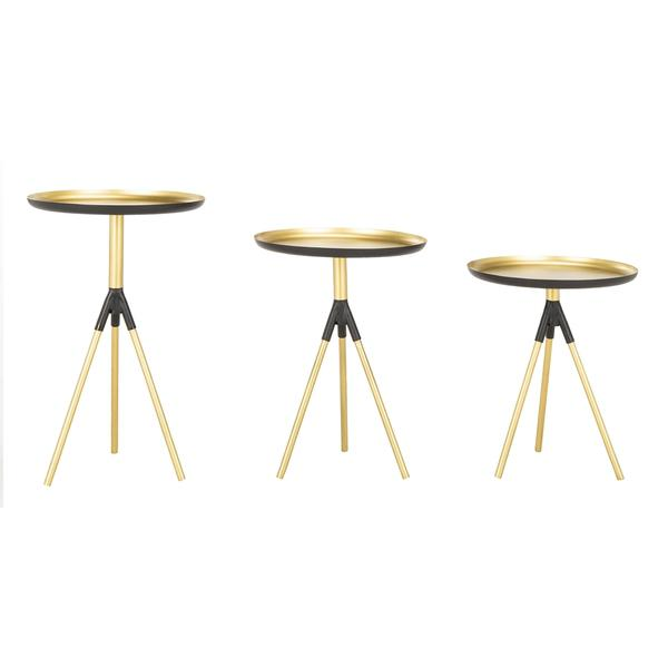 TALON METAL SIDE TABLE SET OF 3. Picture 1