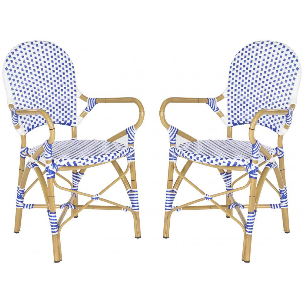 HOOPER INDOOR-OUTDOOR STACKING ARM CHAIR, FOX5209A-SET2. Picture 1