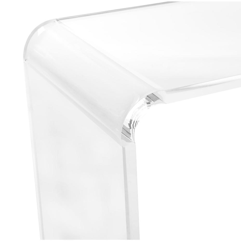 ATKA ACRYLIC CONSOLE TABLE. Picture 1