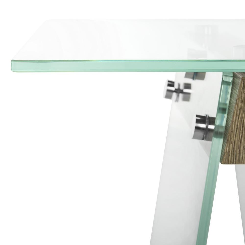 MODERN GLASS LOFT CONSOLE TABLE. Picture 1