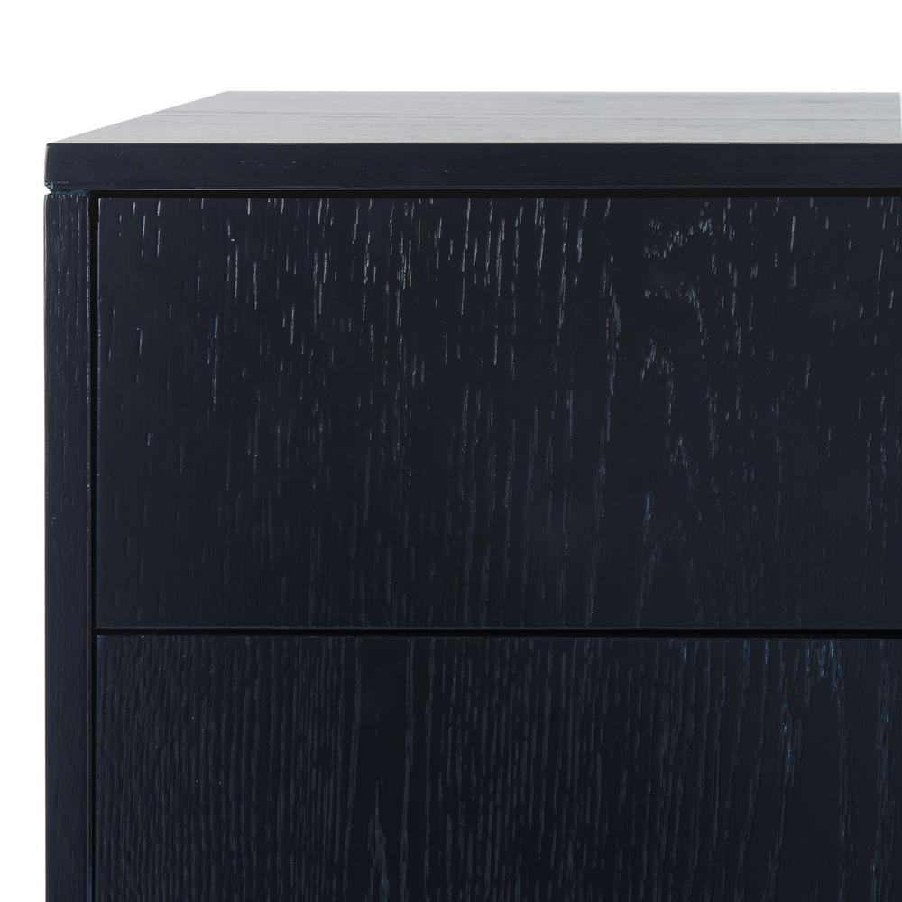 LORNA 3 DRAWER CONTEMPORARY NIGHT STAND, FOX6232B. Picture 1