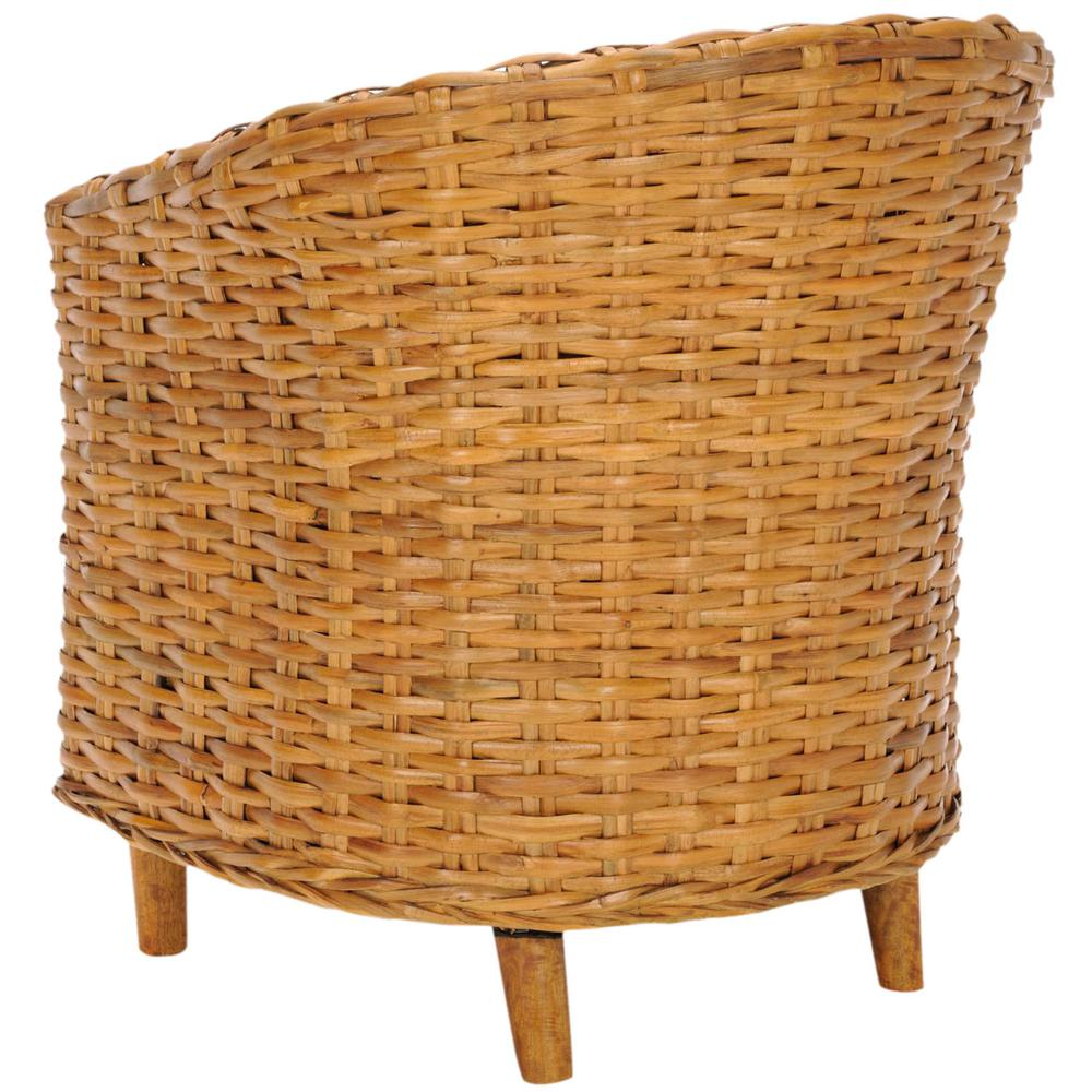 OMNI RATTAN BARREL CHAIR, FOX6501A. Picture 1