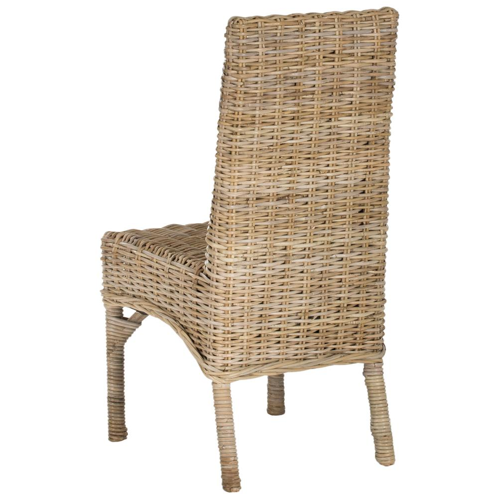 BEACON 18''H RATTAN SIDE CHAIR. Picture 1