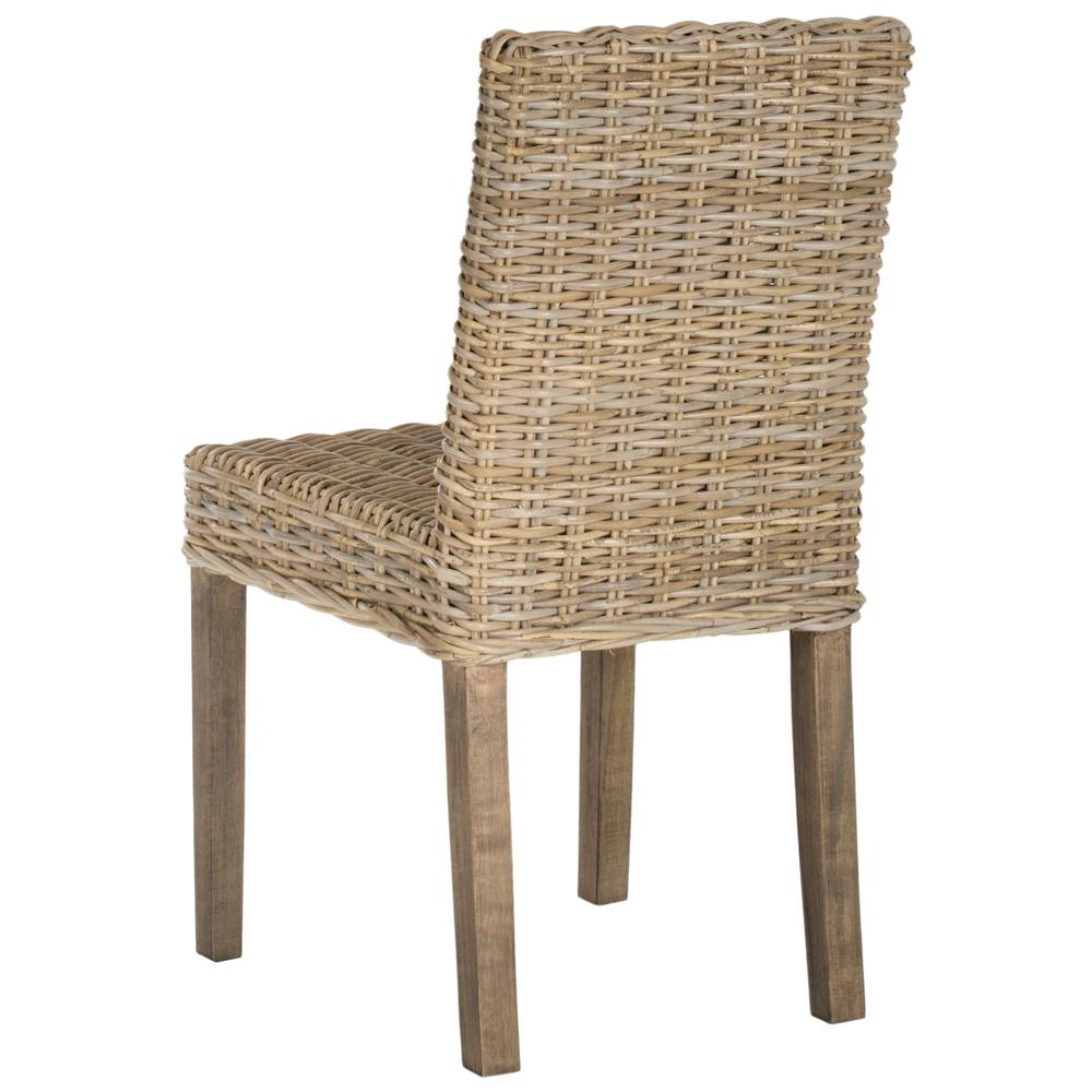 GROVE 19''H RATTAN SIDE CHAIR. Picture 1