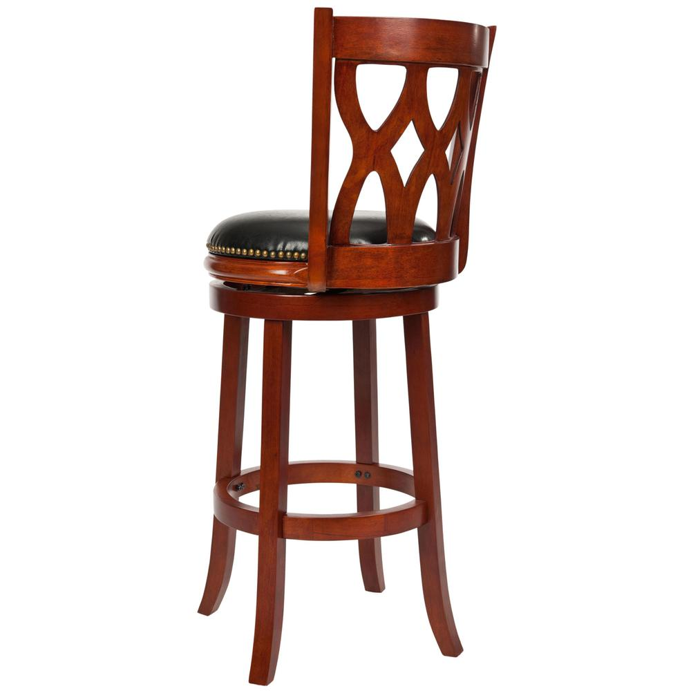 LANCASTER SWIVEL BAR STOOL. Picture 1