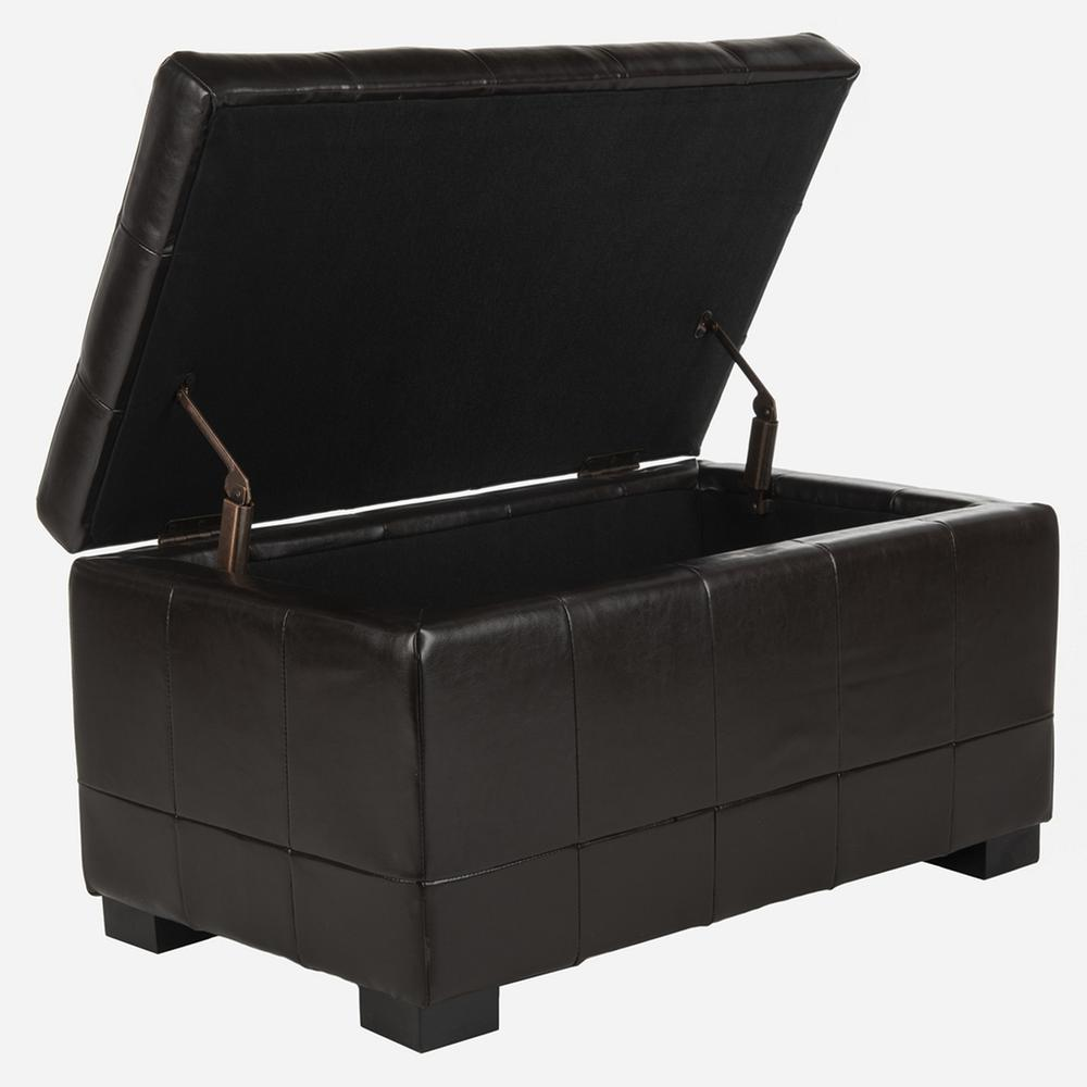 SMALL MANHATTAN STORAGE BENCH, HUD4201A. Picture 1