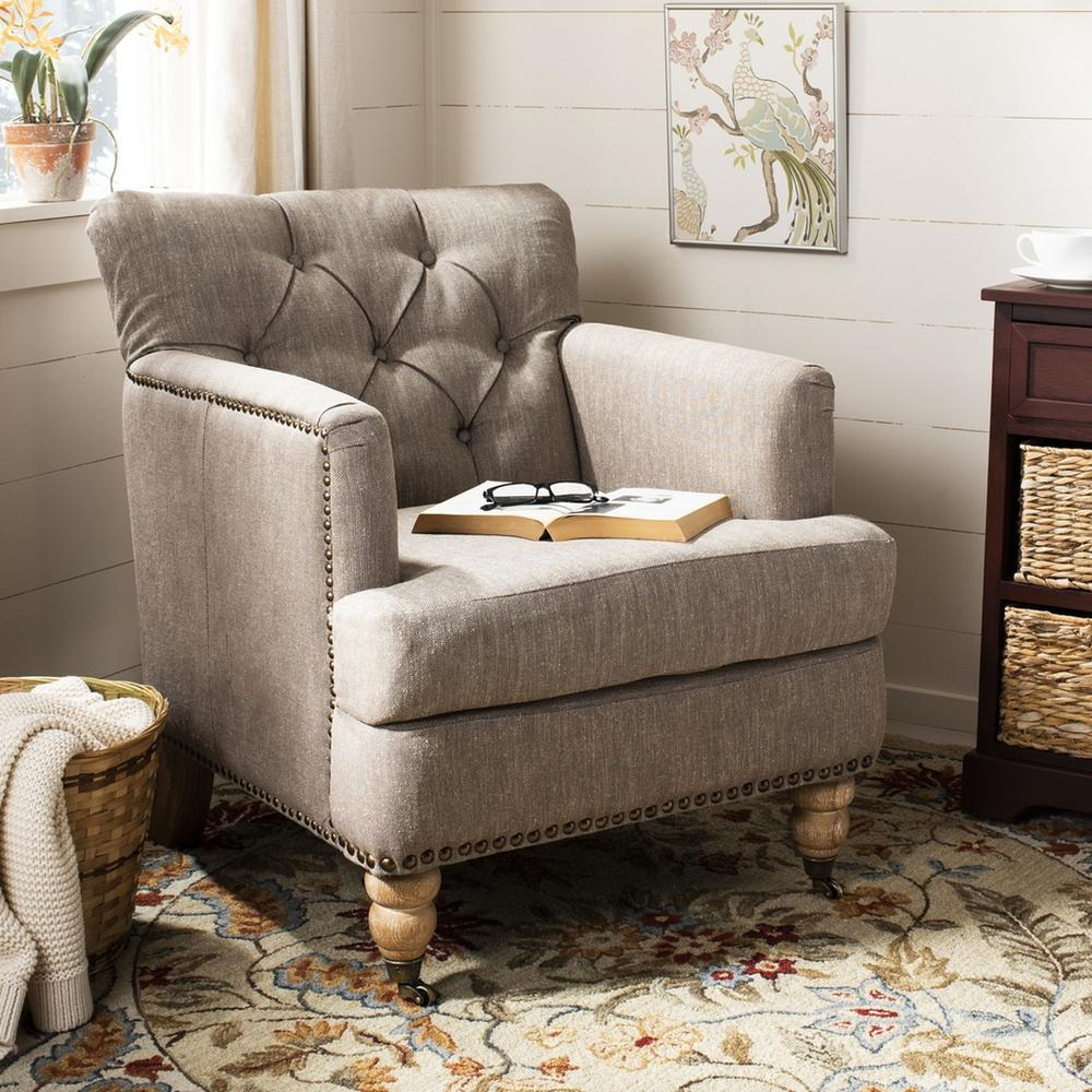 COLIN TUFTED CLUB CHAIR, HUD8212F. Picture 1