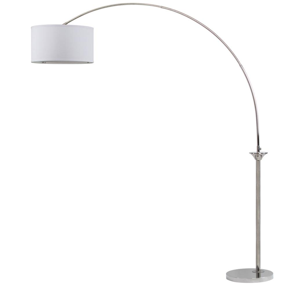 MIRA 84-INCH H ARC FLOOR LAMP. The main picture.