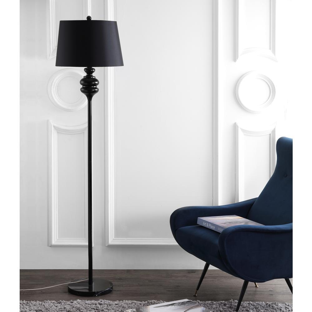 Torc 67.5-Inch H Floor Lamp, Black. Picture 2