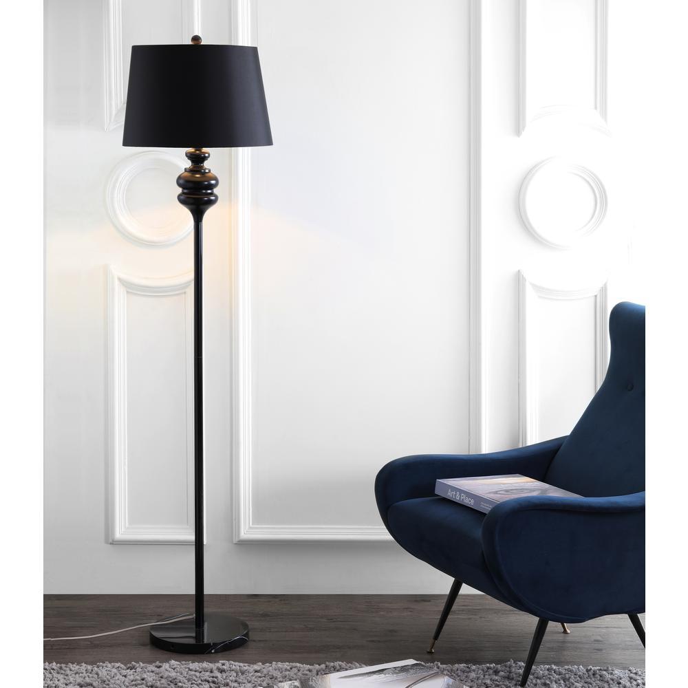 Torc 67.5-Inch H Floor Lamp, Black. Picture 4