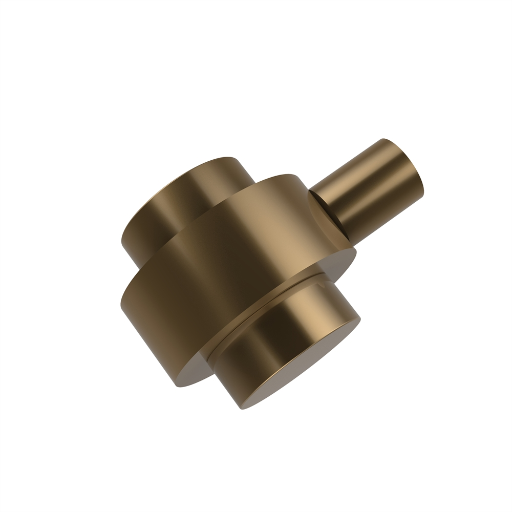102 Bbr 1 1 2 Inch Cabinet Knob Brushed Bronze