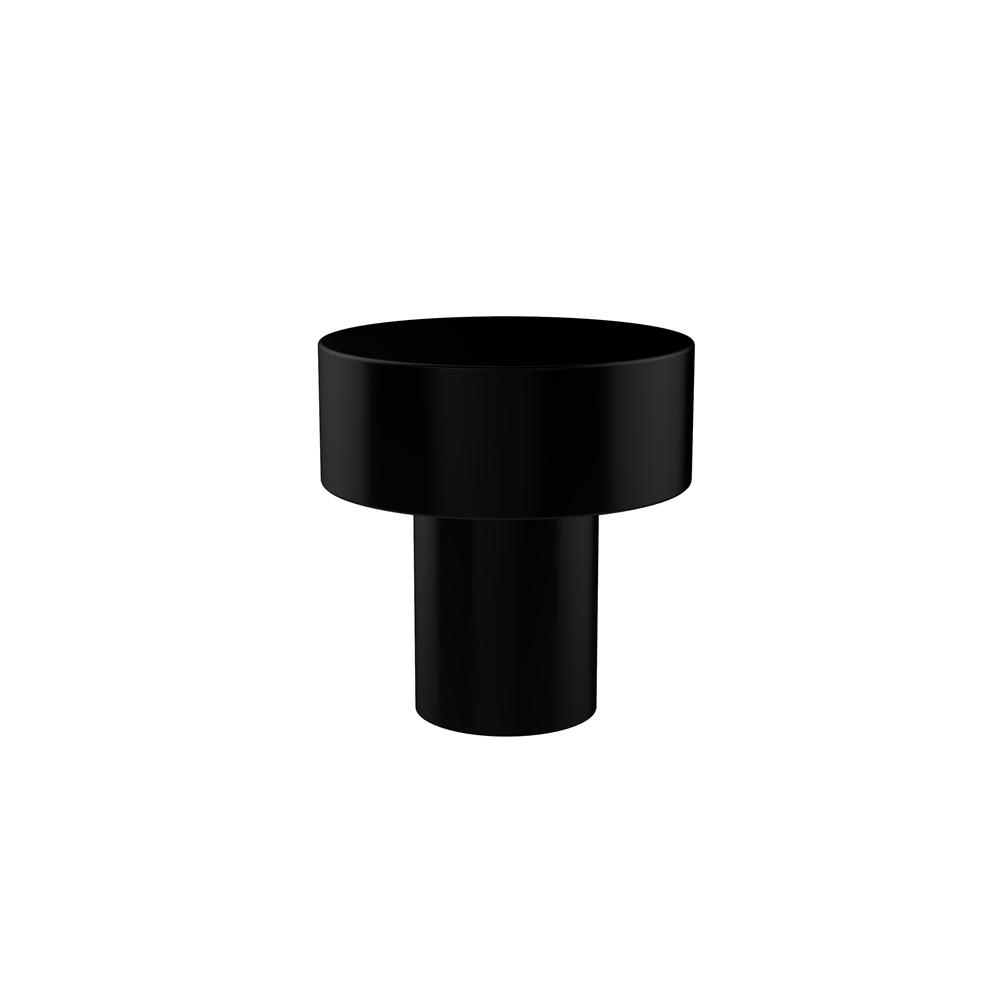 Allied Brass 101T-BKM 1-1//2 Inch Cabinet Knob Matte Black