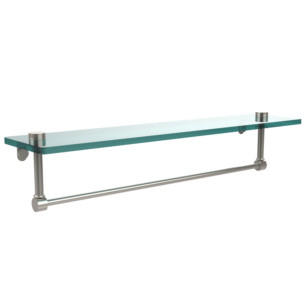 Ns 1 22tb Pni 22 Inch Glass Vanity Shelf With Integrated