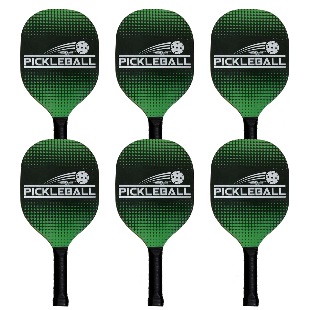 6 Deluxe Pickleball Paddles