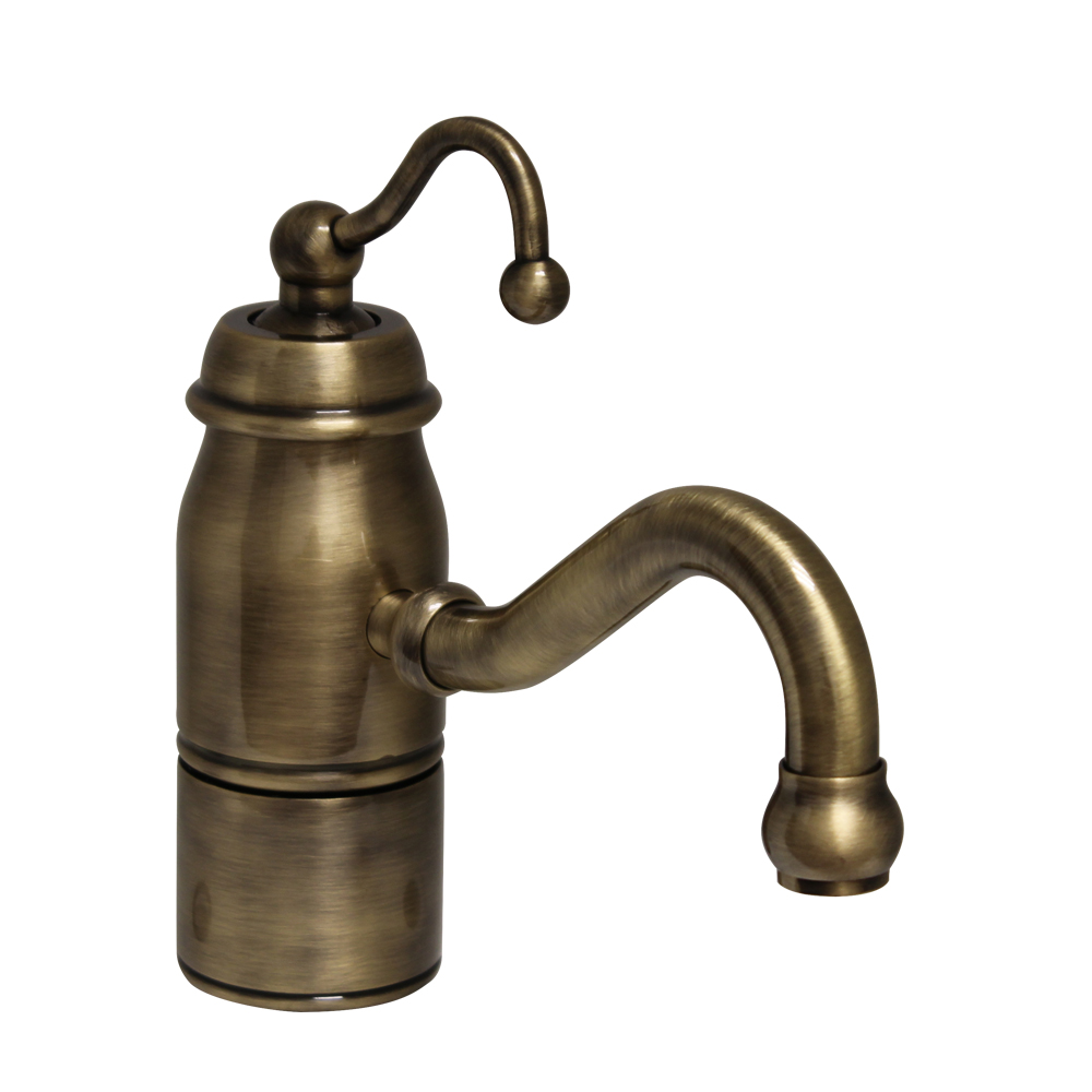 Whitehaus collection 3 3163 c ab beluga faucets antique brass