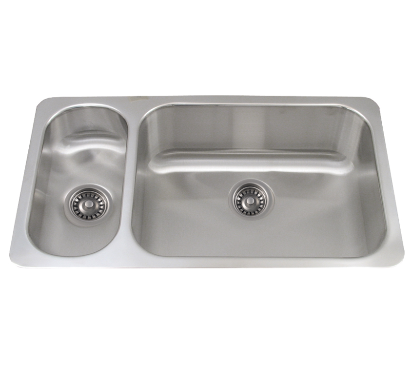 Whitehaus Collection WHNDBU3118GDL Noah\'s Collection Sinks Brushed ...
