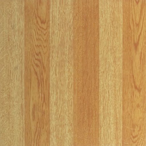 Light Oak Plank Wood Self Stick Adhesive Vinyl Floor Tiles: Tivoli Light Oak Plank-Look 12x12 Self Adhesive Vinyl