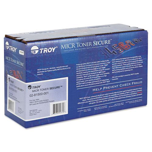 0281500001 05A MICR Toner Secure, Alternative for HP CE505A, Black. Picture 2