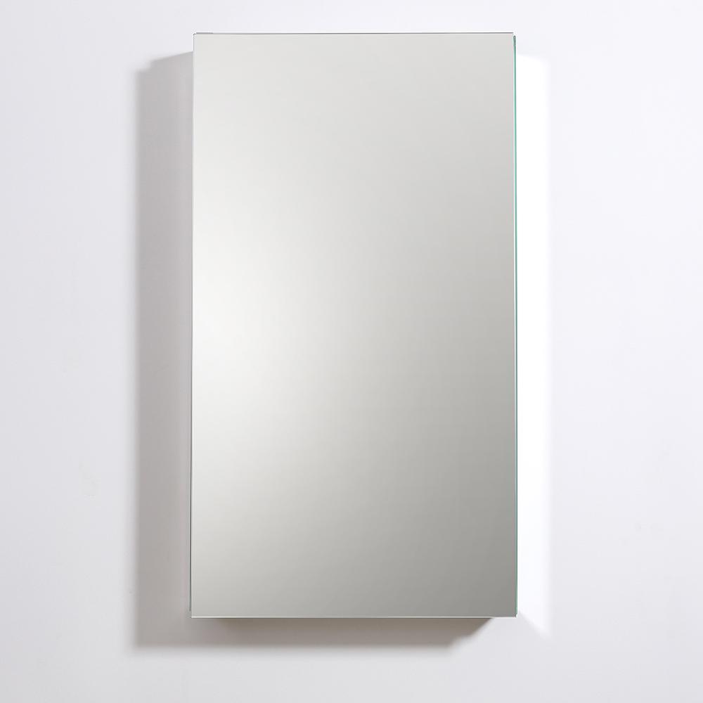 """Fresca 20"""" Wide x 36"""" Tall Bathroom Medicine Cabinet w/ Mirrors. Picture 5"""