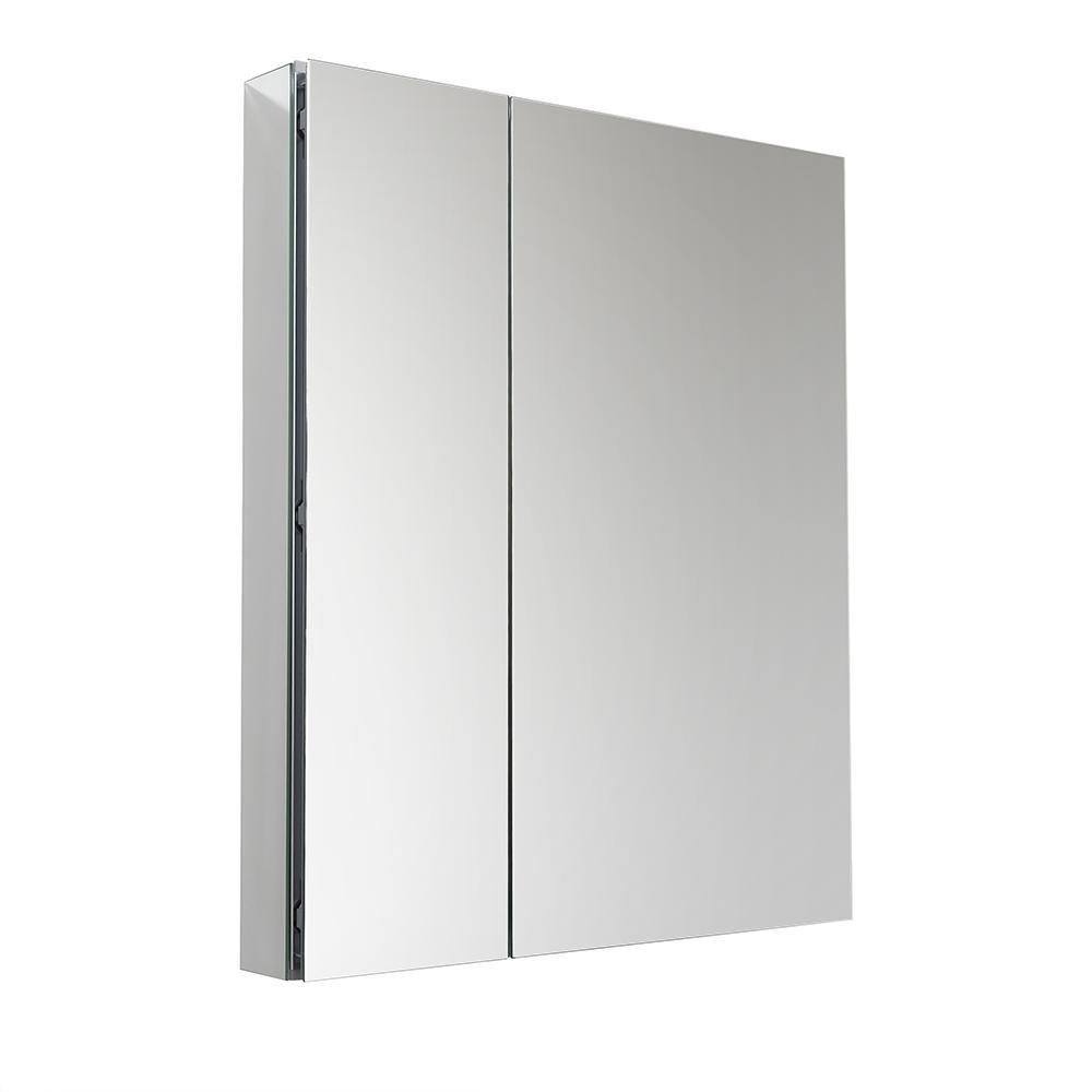 fresca 30 wide x 36 tall bathroom medicine cabinet w mirrors. Black Bedroom Furniture Sets. Home Design Ideas