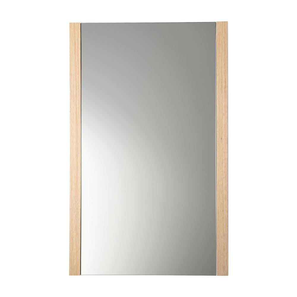 Torino 21 Quot Light Oak Mirror