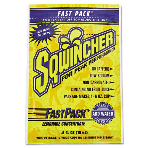 Fast Pack Drink Package, Lemonade, .6oz Packet, 200/Carton. Picture 1