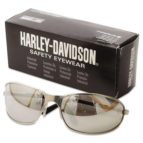 Harley Davidson 500 Series Safety Eyewear Silver Frame