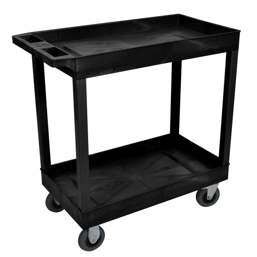 gray and white bedroom black 18x32 2 tub cart w sp5 casters 15454