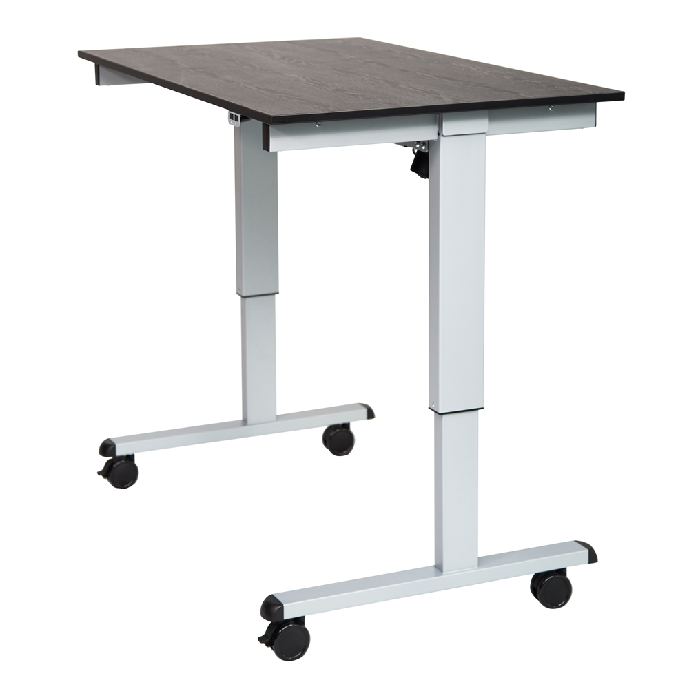 Stande 48 48 Quot Electric Standing Desk Gray Black