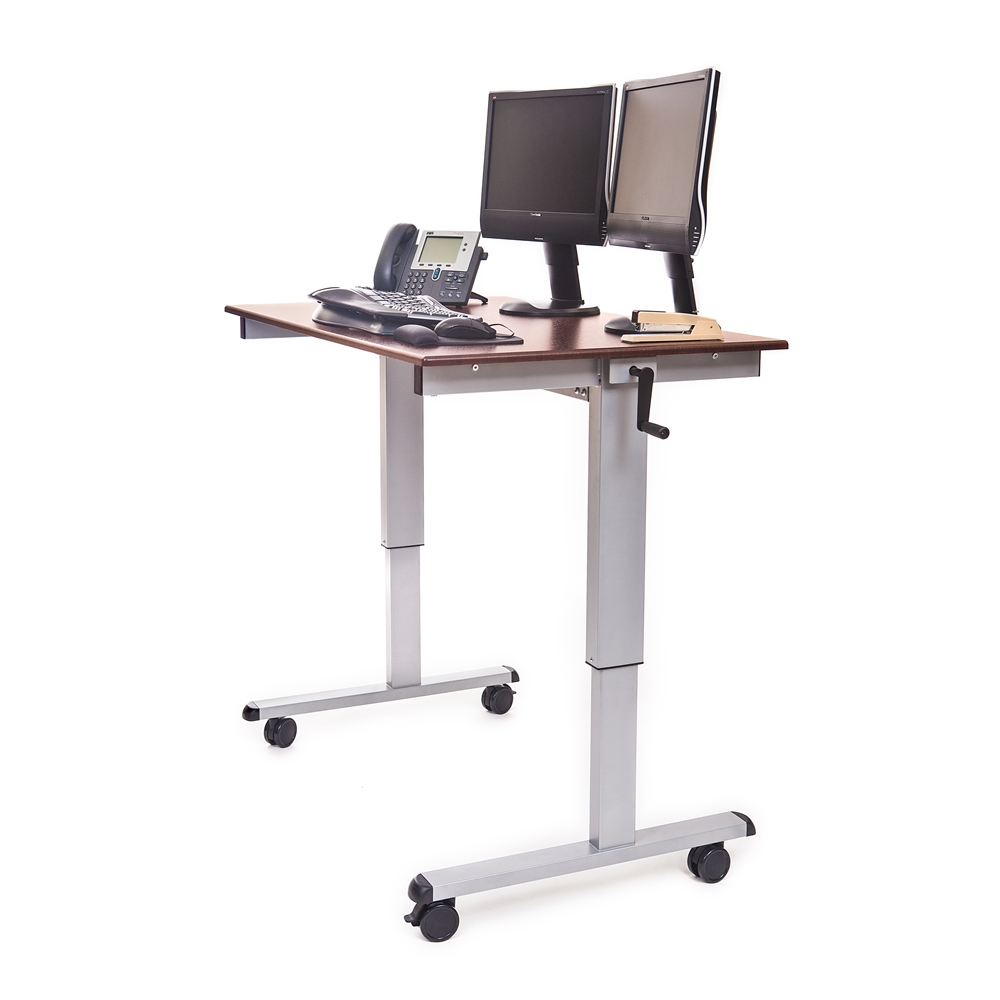 Standup Cf48 Dw 48 Quot Crank Adjustable Stand Up Desk
