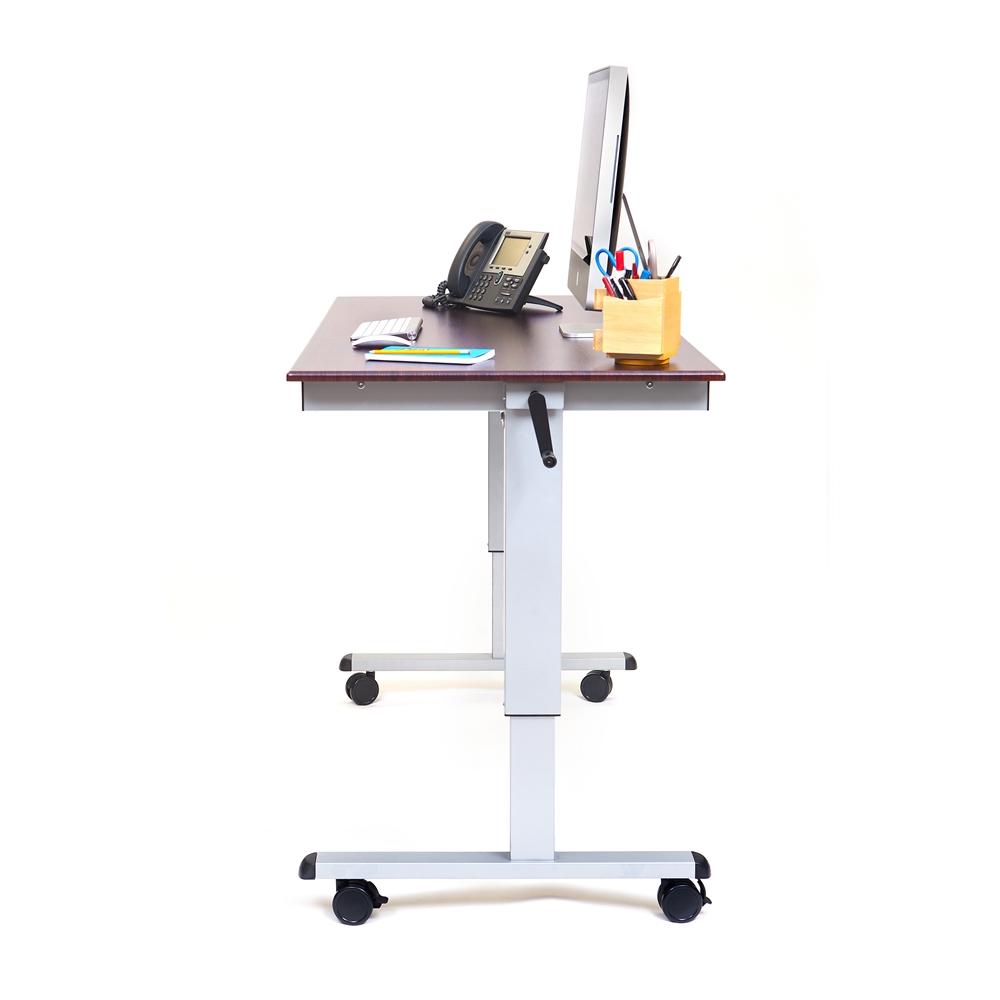 Standup Cf60 Dw 60 Quot Crank Adjustable Stand Up Desk