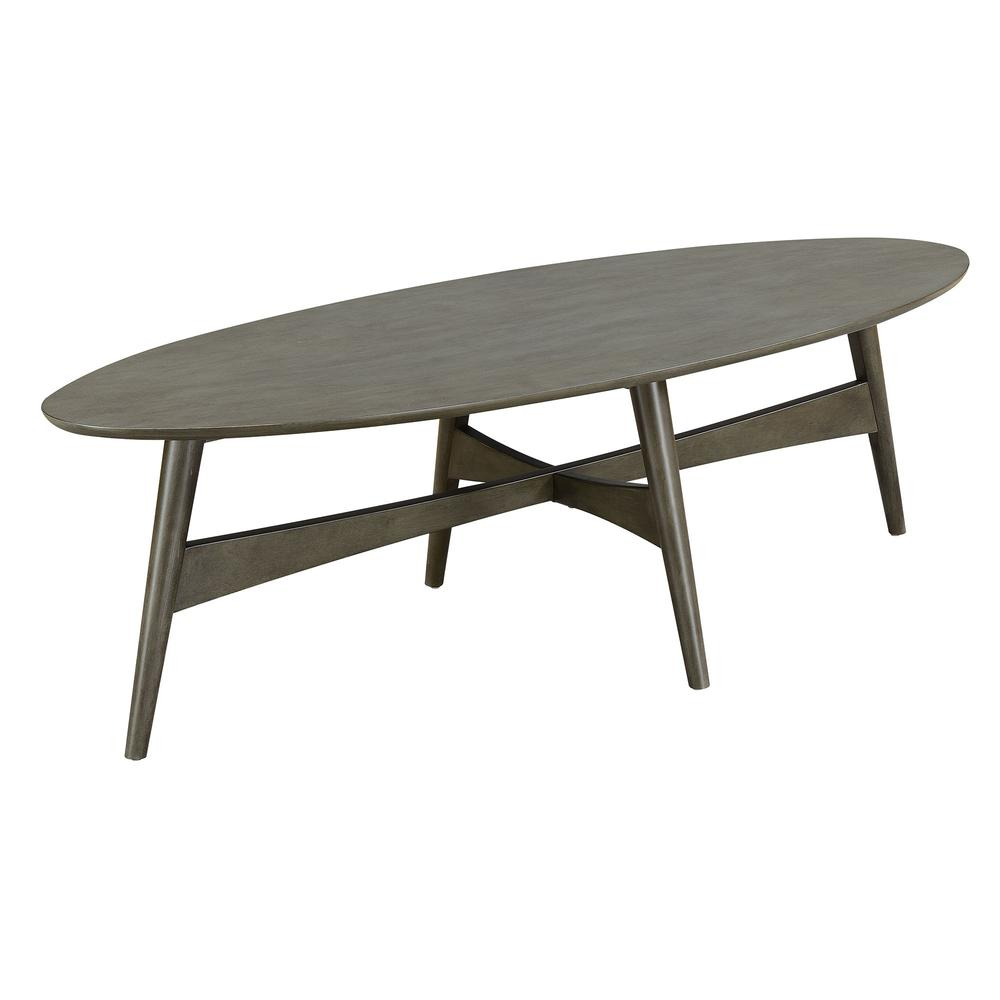 Kiera 3PC Occasional Table Set in Gray. Picture 6