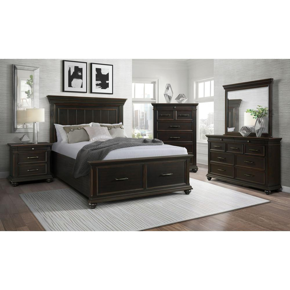 Picket House Furnishings Brooks 3-Drawer Nightstand with USB Ports. Picture 5