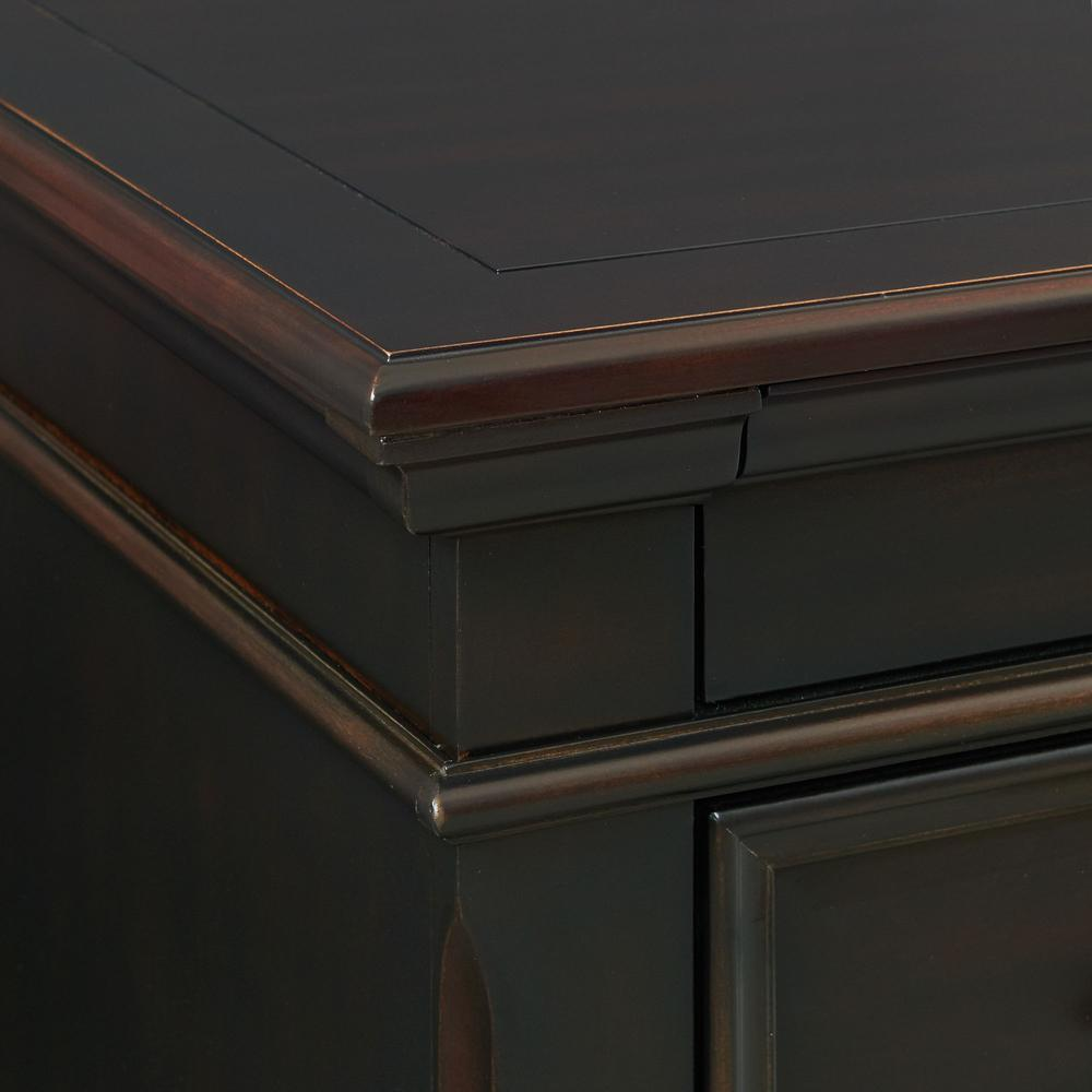 Picket House Furnishings Brooks 3-Drawer Nightstand with USB Ports. Picture 6