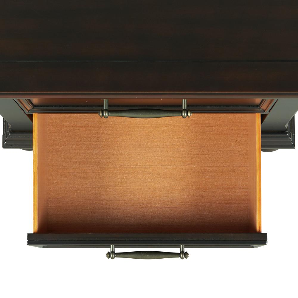 Picket House Furnishings Brooks 3-Drawer Nightstand with USB Ports. Picture 8