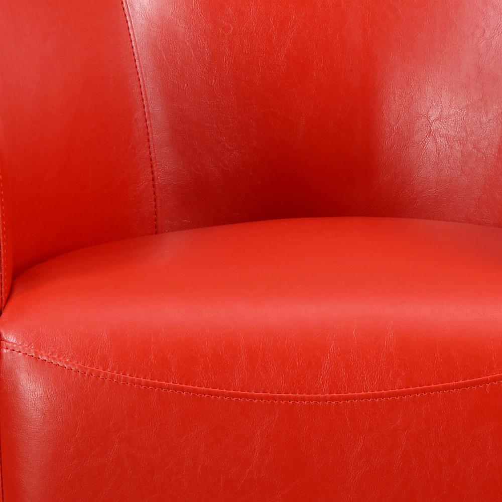 Radford Red Swivel Chair. Picture 3