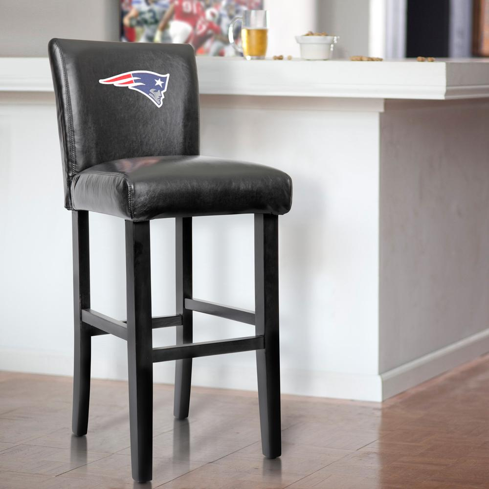 New England Patriots 30ne Official Nfl Licensed 30 Inch Parsons Bar Stools Sold 2 Carton