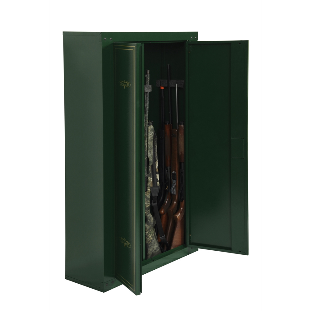 14 Gun Metal Cabinet