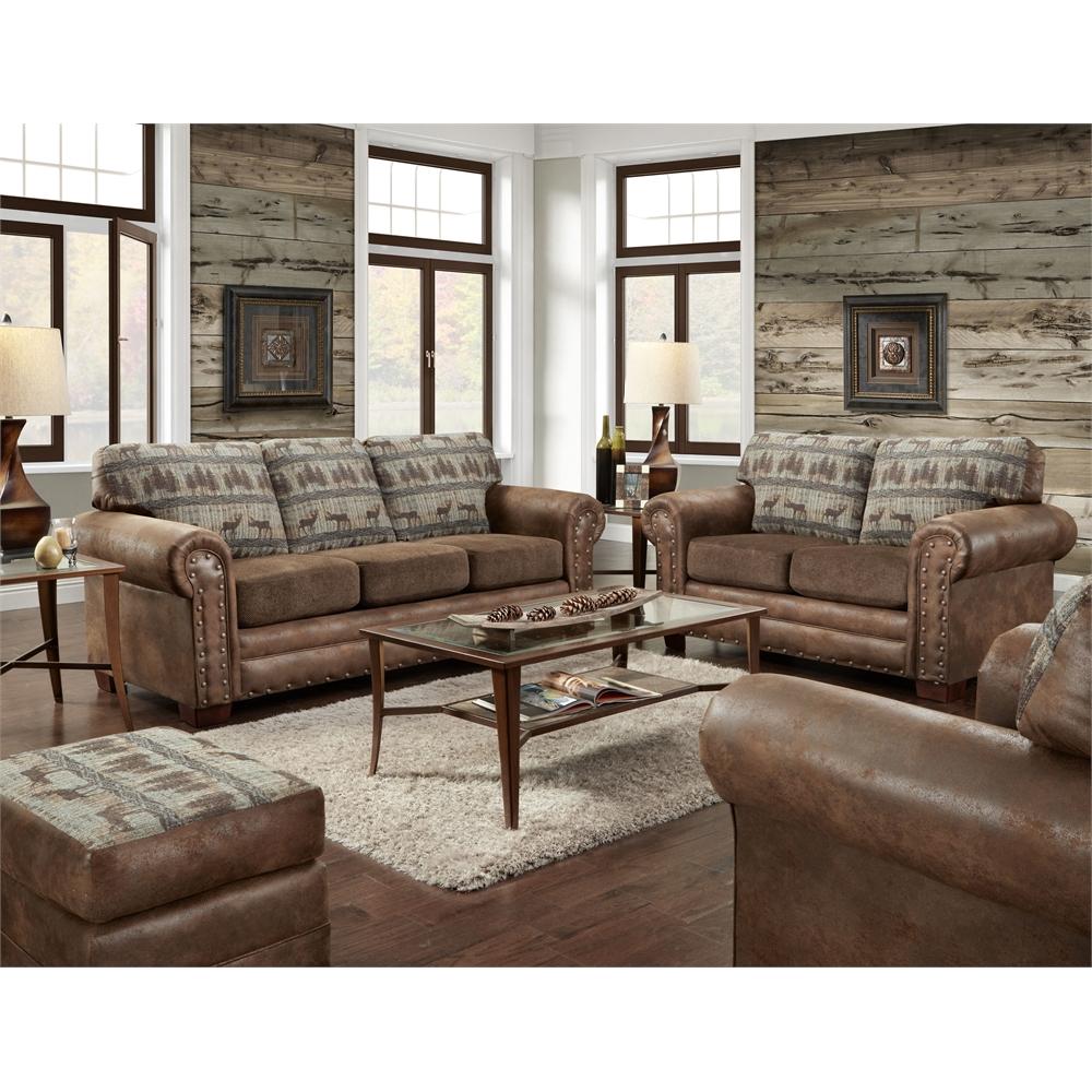 American Furniture Classics Four Piece Set In Deer Teal
