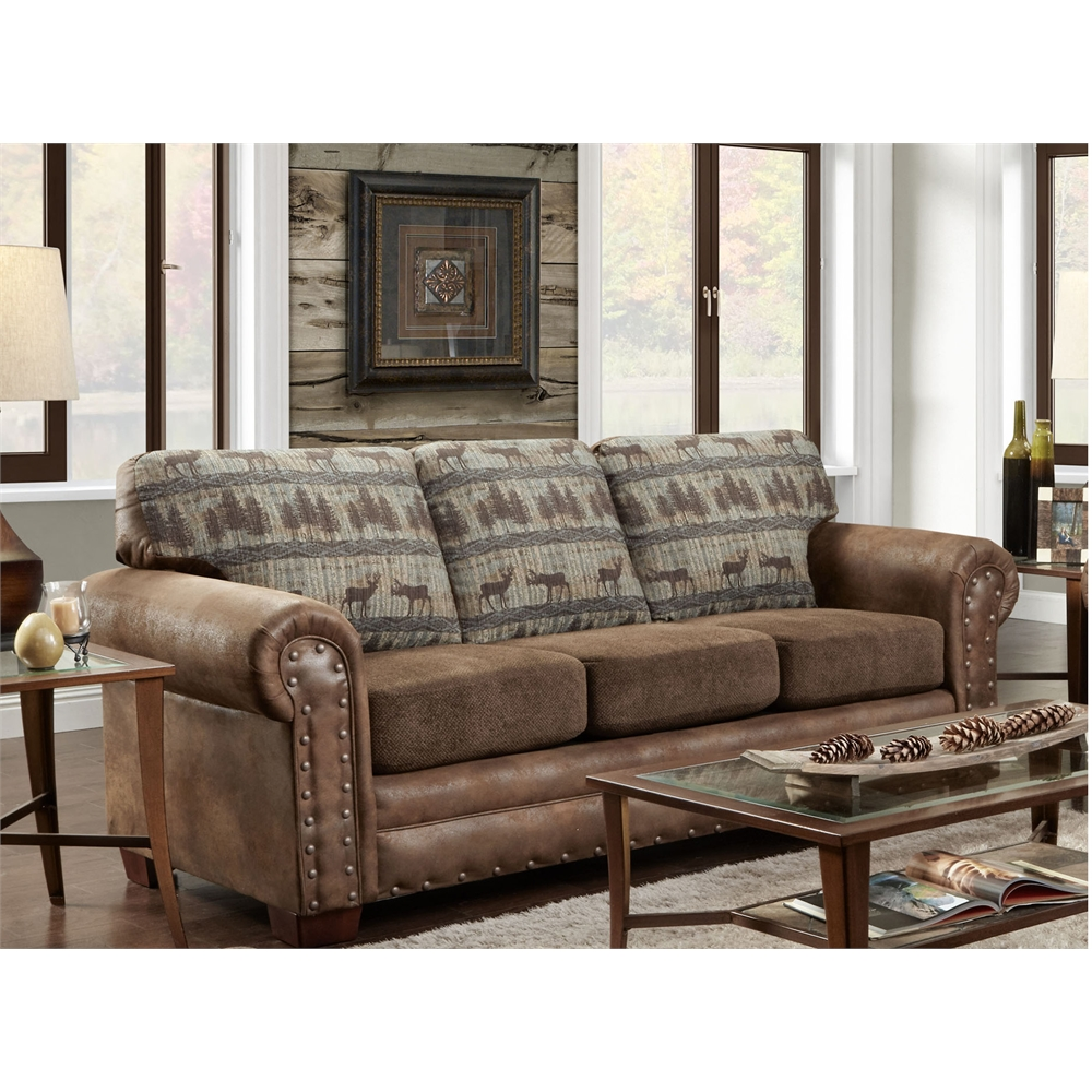 American Best Furniture Store Az: American Furniture Classics Sofa In Deer Teal Lodge