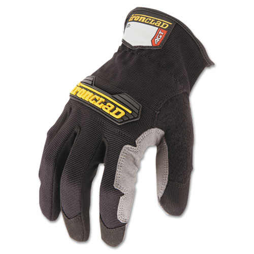 Workforce Glove, Large, Gray/Black, Pair. Picture 2