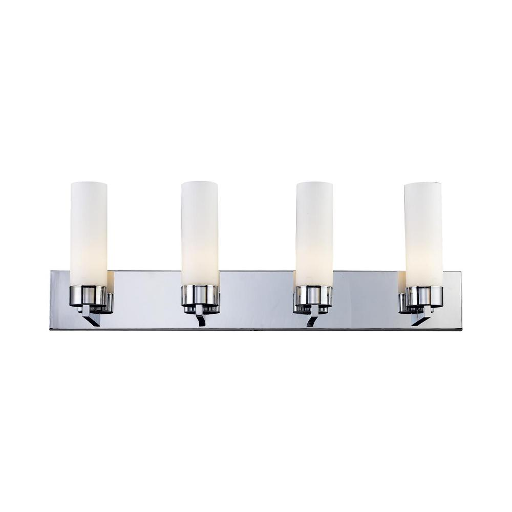 4 Light Vanity, Matte Opal, 163-4V. Picture 1